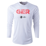 Germany Euro 2016 Elements Long Sleeve Training Top (White)