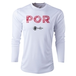 Portugal Euro 2016 Elements Long Sleeve Training Top (White)
