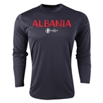 Albania Euro 2016 Core Long Sleeve Training Top (Black)