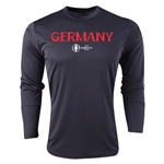 Germany Euro 2016 Core Long Sleeve Training Top (Black)
