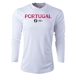 Portugal Euro 2016 Core Long Sleeve Training Top (White)