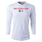 Switzerland Euro 2016 Core Long Sleeve Training Top (White)