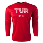 Turkey Euro 2016 Elements Long Sleeve Training Top (Red)