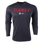 Turkey Euro 2016 Core Long Sleeve Training Top (Black)