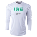 Ireland Euro 2016 Elements Long Sleeve Training Top (White)
