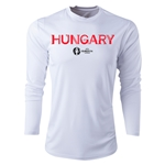 Hungary Euro 2016 Core Long Sleeve Training Top (White)