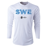 Sweden Euro 2016 Elements Long Sleeve Training Top (White)