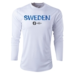 Sweden Euro 2016 Core Long Sleeve Training Top (White)