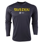 Sweden Euro 2016 Core Long Sleeve Training Top (Black)