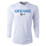 Ukraine Euro 2016 Core Long Sleeve Training Top (White)