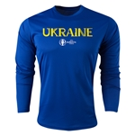 Ukraine Euro 2016 Core Long Sleeve Training Top (Royal)