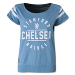 Chelsea Women's Raglan Roll-Up T-Shirt