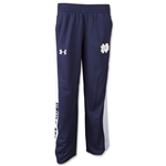 Under Armour Notre Dame Youth Track Pant (Navy)