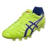 Asics DS Light 6-Wide Fit Cleat (Flash Yellow/Blue)