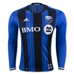 Montreal Impact 2016 LS Authentic Home Soccer Jersey