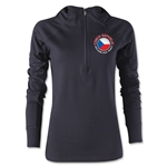 Czech Republic Euro 2016 Women's Fashion Training Hoody (Black)