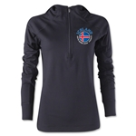 Iceland Euro 2016 Women's Fashion Training Hoody (Black)