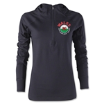 Wales Euro 2016 Women's Fashion Training Hoody (Black)