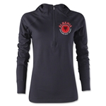 Albania Euro 2016 Women's Fashion Training Hoody (Black)