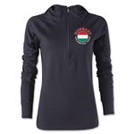 Hungary Euro 2016 Women's Fashion Training Hoody (Black)