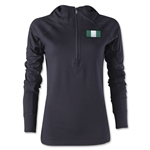 Nigeria Women's 1/4 Zip Training Hoody