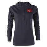 Tunisia Women's 1/4 Zip Training Hoody