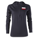 Poland Women's 1/4 Zip Training Hoody