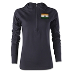 India Women's 1/4 Zip Training Hoody