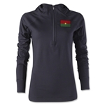 Burkina Faso Women's 1/4 Zip Training Hoody