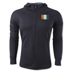 Cote d'ivoire 1/4 Zip Training Hoody