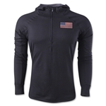 USA 1/4 Zip Training Hoody