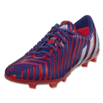 adidas Predator Instinct FG Junior (Solar Red/White)