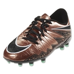 Nike Junior Hypervenom Phelon II FG (Metallic Red Bronze/Black)