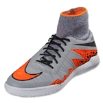 Nike Hypervenom Finale IC Junior (Wolf Grey/Total Orange)