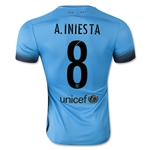 Barcelona 15/16 A. INIESTA Authentic Third Soccer Jersey