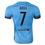 Barcelona 15/16 ARDA Authentic Third Soccer Jersey