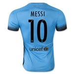 Barcelona 15/16 MESSI Authentic Third Soccer Jersey