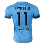 Barcelona 15/16 NEYMAR JR Authentic Third Soccer Jersey