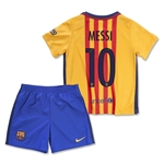 Barcelona 15/16 MESSI Little Boys Away Kit