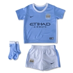 Manchester City 15/16 Infant Home Soccer Kit