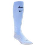 Manchester City 15/16 Home Soccer Sock