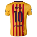Barcelona 15/16 MESSI Youth Away Soccer Jersey