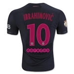 Paris Saint-Germain 15/16 IBRAHIMOVIC Authentic Third Soccer Jersey