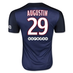 Paris Saint-Germain 15/16 AUGUSTIN Authentic Home Soccer Jersey