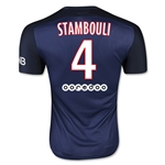Paris Saint-Germain 15/16 STAMBOULI Authentic Home Soccer Jersey