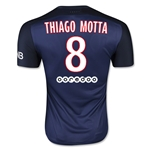 Paris Saint-Germain 15/16 THIAGO MOTTA Authentic Home Soccer Jersey