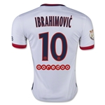 Paris Saint Germain 15/16 IBRAHIMOVIC Away Soccer Jersey