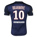 Paris Saint-Germain 15/16 IBRAHIMOVIC Home Soccer Jersey