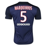 Paris Saint-Germain 15/16 MARQUINHOS Home Soccer Jersey