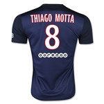 Paris Saint-Germain 15/16 THIAGO MOTTA Home Soccer Jersey